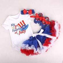 4th of july outfit girls sets clothing newborn casual pullover christmas clothes kids infant letter thanksgiving