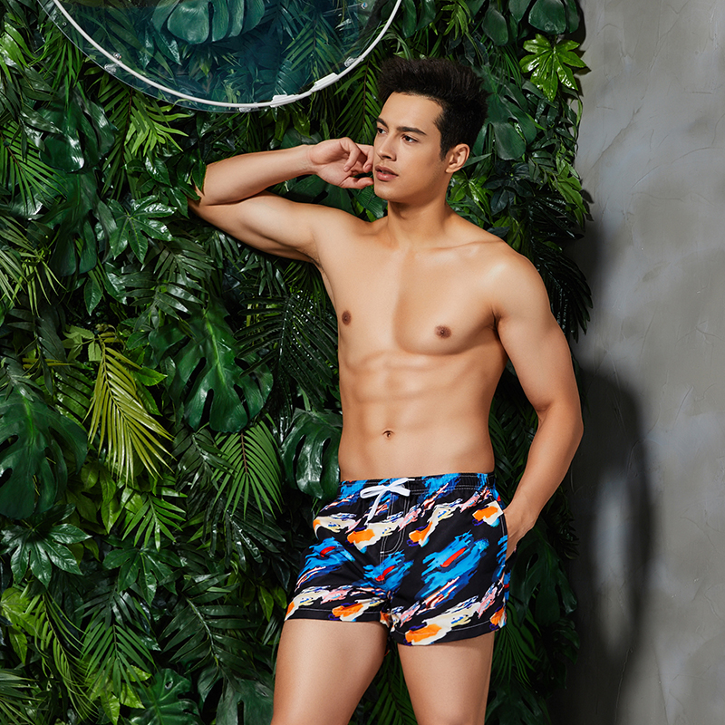 2019 Newest Men 39 s Board Shorts Quick Dry Beach Shorts Printed Bermuda Surf Short Homme Man Beach Pants Surfing Swimwear S XL in Surfing amp Beach Shorts from Sports amp Entertainment