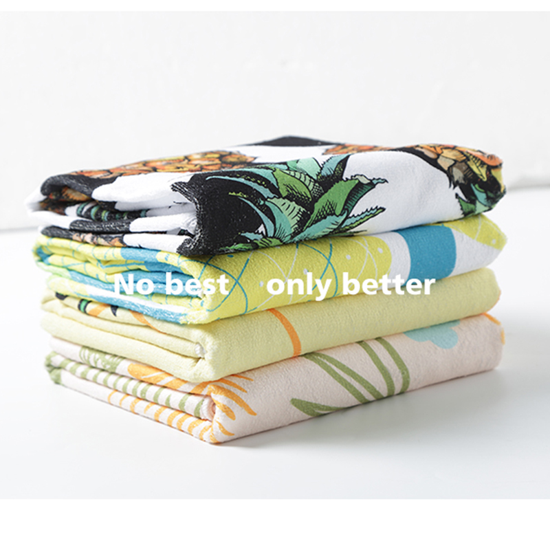 Microfine Microfiber Beach Towels Large Size Pineapple Winter For Adults Thick Bath Luxury Terry Blankets Sofa