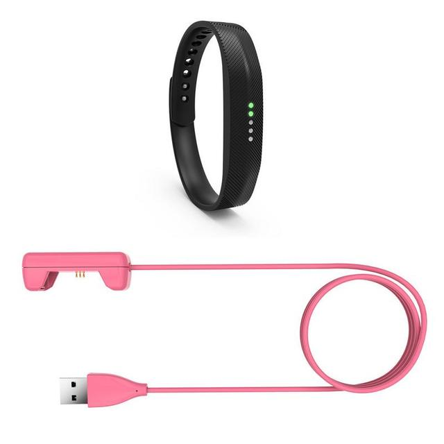 Wristband Charging Cable Cradle Dock Adapter Replacement 15cm/1m Automatic Power off  Power changeLine Length For Fitbit Flex 2