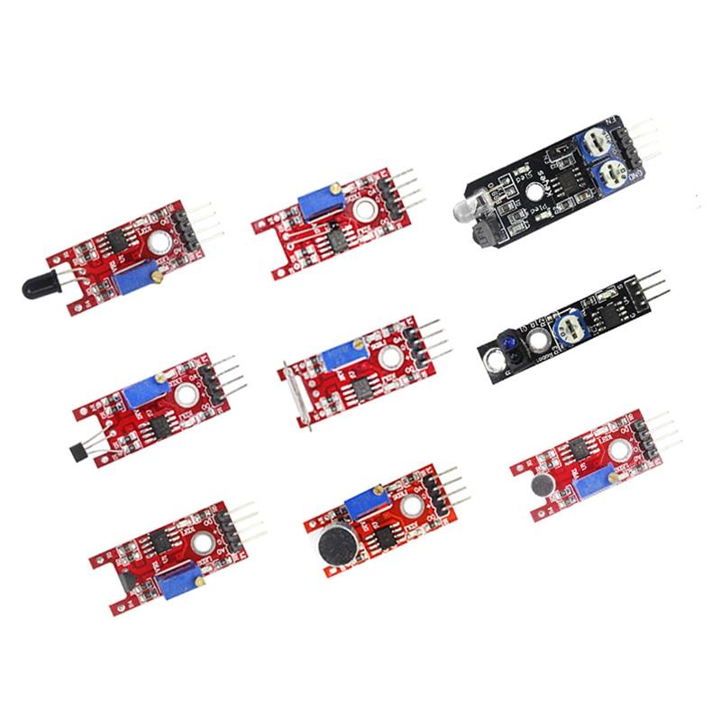 Image 4 - Raspberry Pi 3 Model B+ /4B 37 IN 1 Sensors Kit with big breadboard Starter KitDemo Board   -