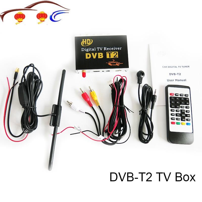 Récepteur TV DVB-T2 pour voiture Android 6.0.1/5.1.1/4.4/4.2 lecteur DVD de voiture pour la russie singapour malaisie et autres régions du DVB-T2