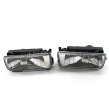 2pcs car bumper fog lights clear lens housing case for bmw e36 92 98 Automobile fog lamp halogen fog lamp front bumper lamp 92-98 years for BMW 3 series E36 318320323325 328i