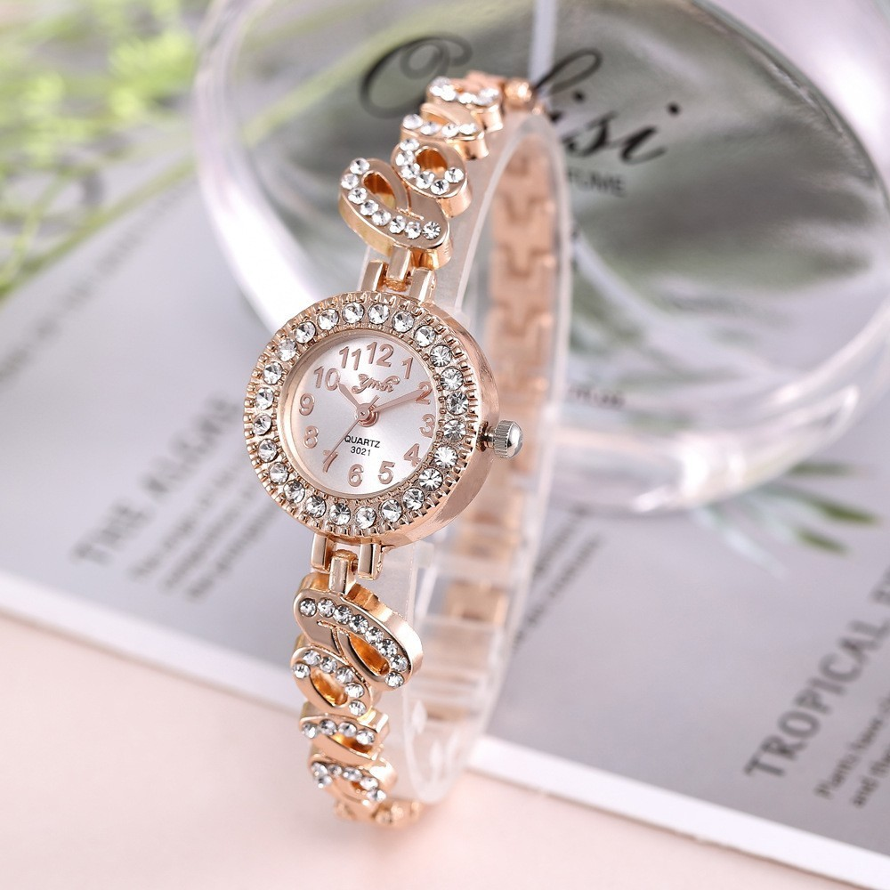 Top Brand Luxury Bracelet Women Watches Fashion Quartz Crystal Rhinestone Watch Ladies Casual Dress Sport WristWatch Reloj Mujer