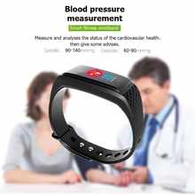 GIMTO Smart Band Sport Watch Men Women Heart Rate Fitness Tracker Smart Bracelet Blood Pressure Measurement Pedometer Waterproof