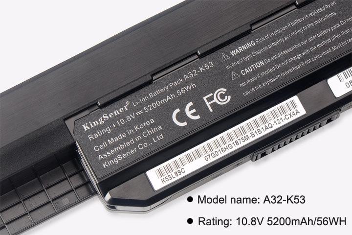 Корея CellShener новый аккумулятор A32-K53 - Аксессуары для ноутбуков - Фотография 5