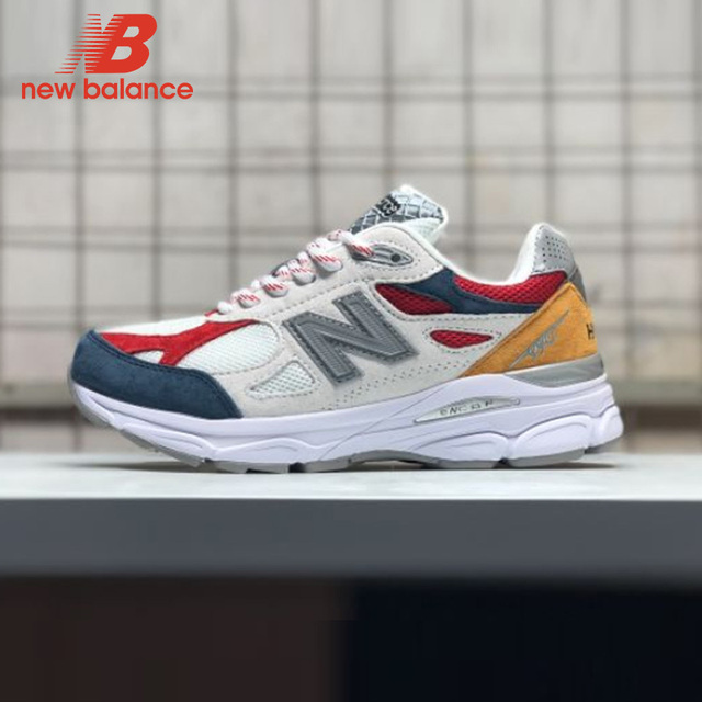 4e352e93259a3 New Balance Nb990 Men's Badminton Shoes Lace Up Outdoor Sneaker Hot Sale