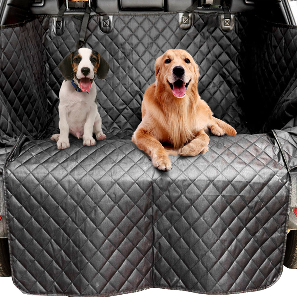 Pet Car Trunk Cover Cargo Cover Waterproof Trunk Pet Pad SUV Cargo Liner For Dogs Non-skid Car Protector Mat Pet Seat Cover