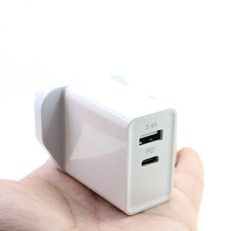 Pd Charger 30W Type-C Pd Quick Charger Usb 5V 3A Fast Charging Smartphone Adapter For Samsung S7 S8
