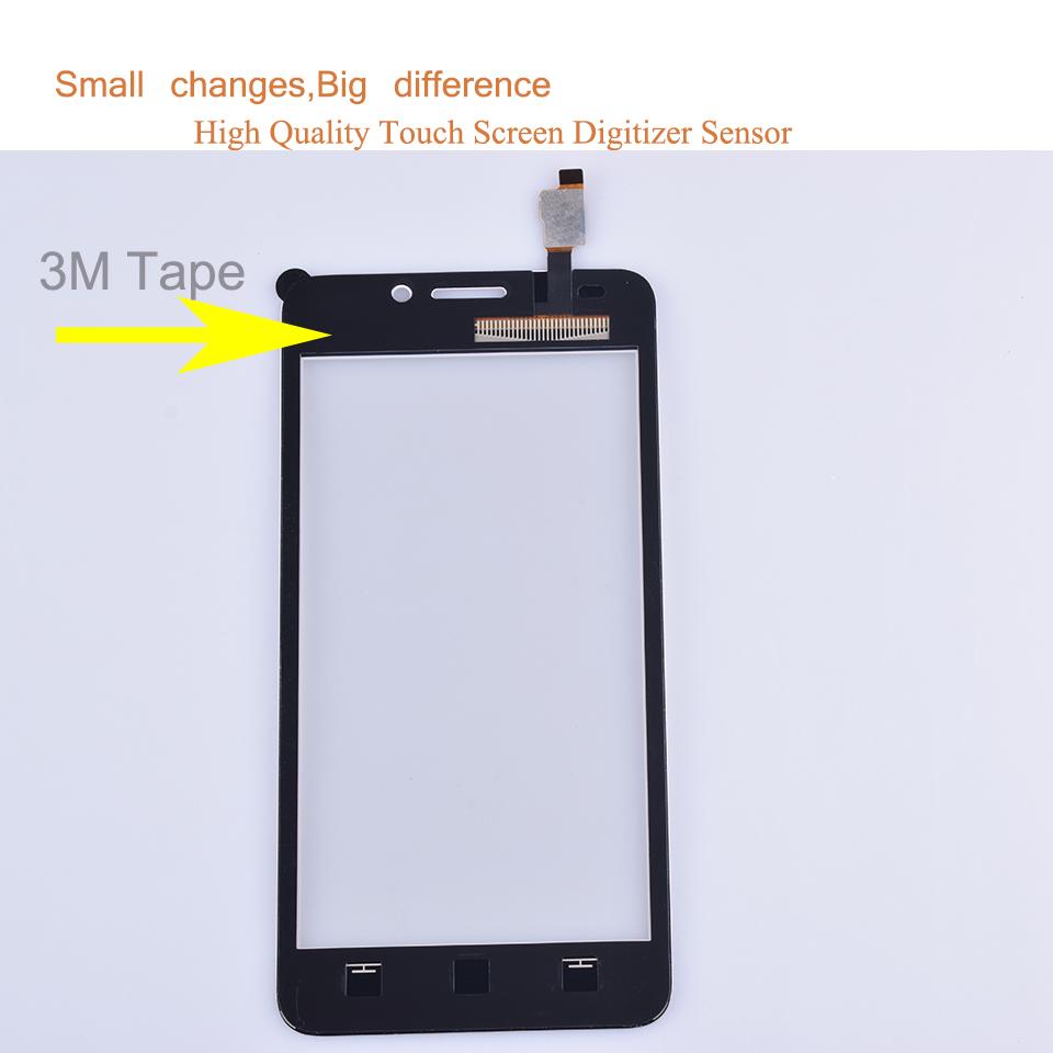 10pcs lot For Huawei Ascend Y635 Touch Screen Touch Panel Sensor Digitizer Front Outer Glass Lens Touchscreen No LCD black white in Mobile Phone Touch Panel from Cellphones Telecommunications
