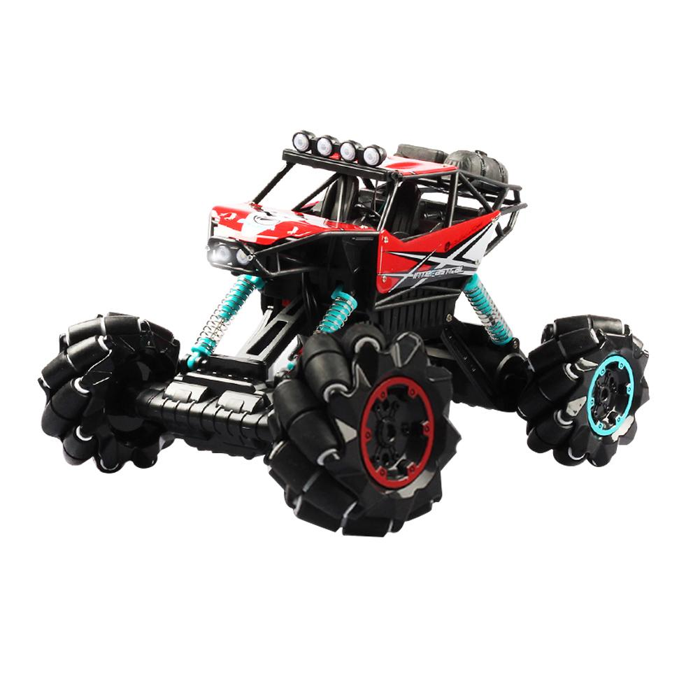 2.4G 338 Remote Control Car Toy Drift Climbing Toys Dancing LED Music Deformation Off-road Car