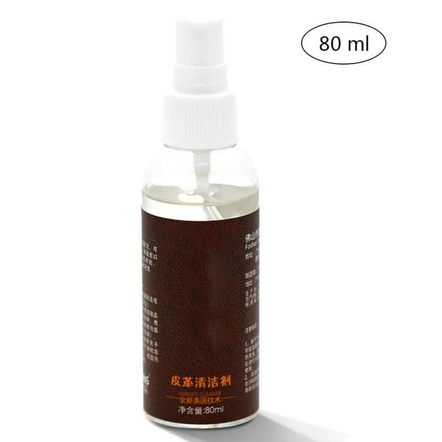 80ML Leather Cleaner Leather Sofa Bag Car Leather Care Oil Stain ...