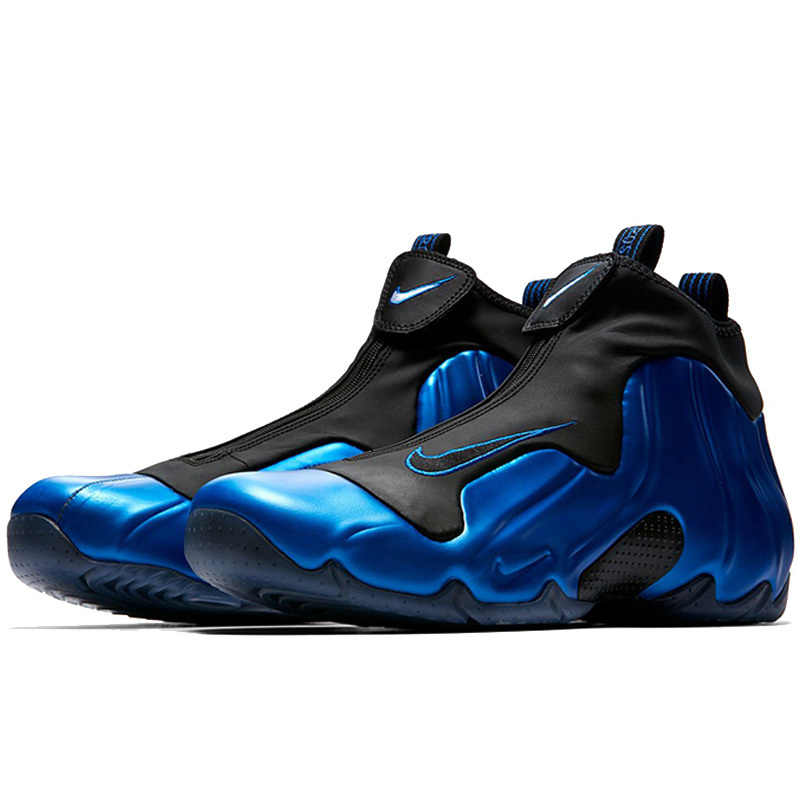 1fa8ee77ce83 ... Nike Air Flightposite Men Basketball Shoes New Arrival Blue Wind One  Increase Comfortable Motion Engraved Sneakers ...