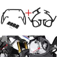 High Quality Upper / Lower Motorcycle Engine Guard Crash Bar Protector For BMW G310R 2017 2018 G310GS 2018 Engine Bumper Guard