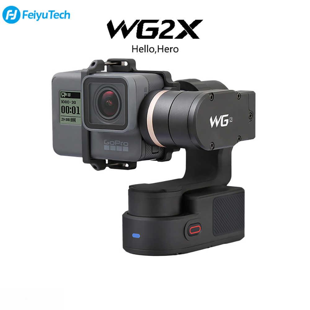 FeiyuTech WG2X водостойкий 3 оси стабилизатор для Gopro Hero7 6 5 Session Xiaomiyi 4/5 Yi 4 к ручные стабилизаторы WG2X