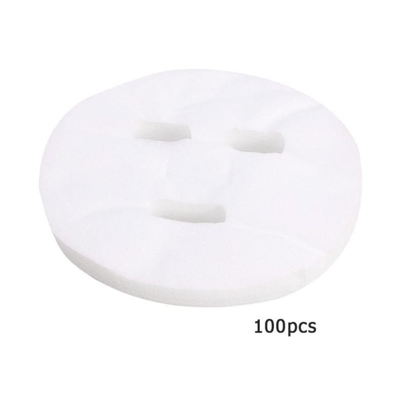 100pcs Disposable Non Compress Face Masks Cotton Silk Facial Sheet Paper Face Care Tool Skin Cleaning Care Makeup Accessories Lahore