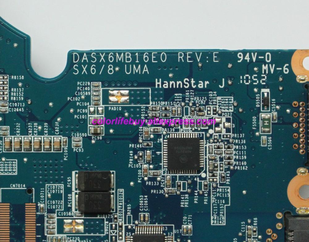 Image 4 - Подлинная 599521 001 DASX6MB16E0 UMA DDR3 Материнская плата ноутбука для hp 4320 s серии ноутбук ПК-in Материнская плата для ноутбука from Компьютер и офис on AliExpress - 11.11_Double 11_Singles' Day