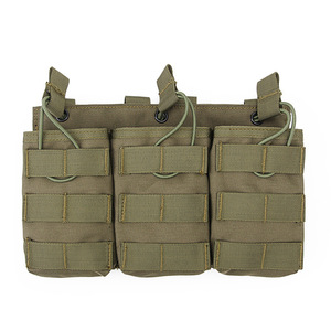 Image 3 - Tactical Triple Magazine Pouch for G36 Mag Outdoor Paintball Games Group Activities Outdoor Pocket Bag