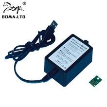 BOMALTD Waste Ink Maintenance Tank Chip Resetter For Canon iPF650 iPF655 iPF750 iPF755 iPF760 iPF765 iPF765MFP Plotter USB