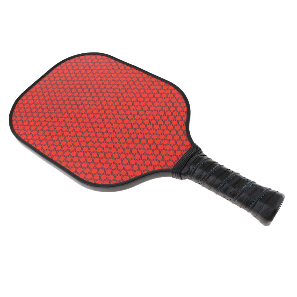 Lightweight Pickleball Paddle Composite Honeycomb Core & Carbon Fiber Face Camping Beach Game