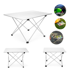 Foldable Folding Picnic Table Portable Camping Outdoor Beach Desk P20