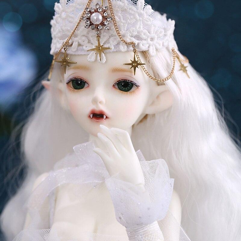 Livraison gratuite Hwayu Vampire Minifee BJD poupée 1/4 lèvres épaisses joli jouet pour les filles envoyé cadeau #1 mains