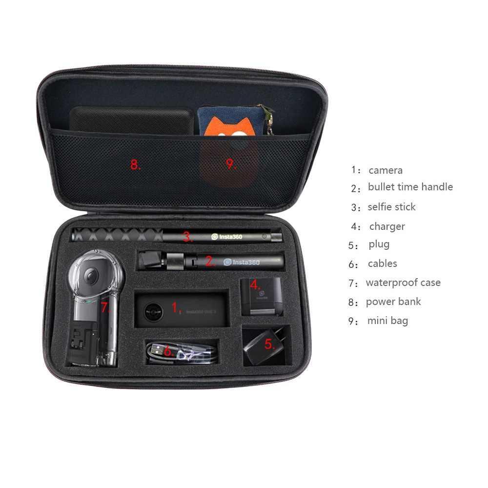 Insta360 ONE X чехол для Insta 360 экшн-камера портативный сумка для хранения аксессуары