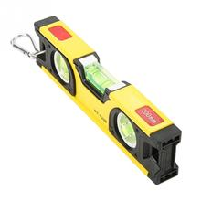 200mm Magnetic Aluminum Alloy Bubble Ruler High Accuracy Spirit Level Portable Levels Measuring Tools Hot Sale portable chain level meter 100 mm spirit level yellow blue orange horizontal measuring with magnetic base 2 level bubble