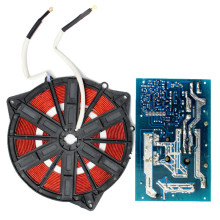 Прочный 220 В 2500 Вт индукционный нагреватель 20-25 кГц с катушкой Электрический магнитный нагревательный пульт управления для кухонных приборов