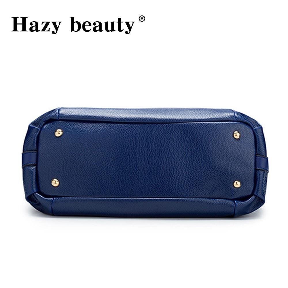 Hazy beauty Women Handbag Female PU Leather Bags Handbags Ladies Portable Shoulder Bag Office Ladies Hobos Bag Totes 59