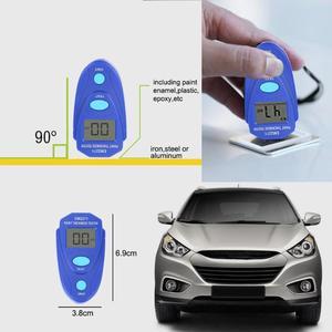 Image 5 - Przenośny mini cyfrowy przyrząd do malowania samochodu LCD przyrząd do pomiaru grubości Auto farba powłoka Film miernik grubości cynku narzędzia testowe