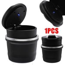 Multifunction Durable Car LED Cigarette Smoke Ashtray Smokeless Ash Cup High Quality