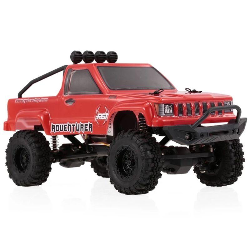RGT RC voiture 1/24 136240 échelle 4WD hors route RC Crawlers 4x4 Lipo mini tout-terrain camion RTR Rock chenille avec lumières