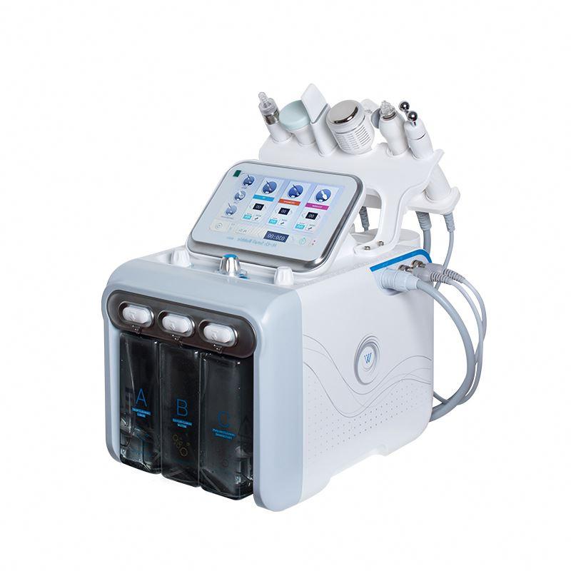 Uso Spa Hydro Dermoabrasão Peeling de Diamante e Beleza do Jato de Água Do Aqua Facial Peel Máquina