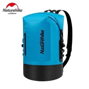 Image 4 - Naturehike 20L 30L 40L 420D TPU Waterproof River Trekking Bags Dry Pack Bag Dry Wet Separation Waterproof Drift Storage Bag