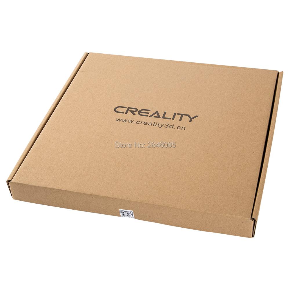 Image 5 - CREALITY 3D CR 10S Pro Tempered Glass Build Plate Special  Chemical Coating 310x320x3mm3D Printer Parts