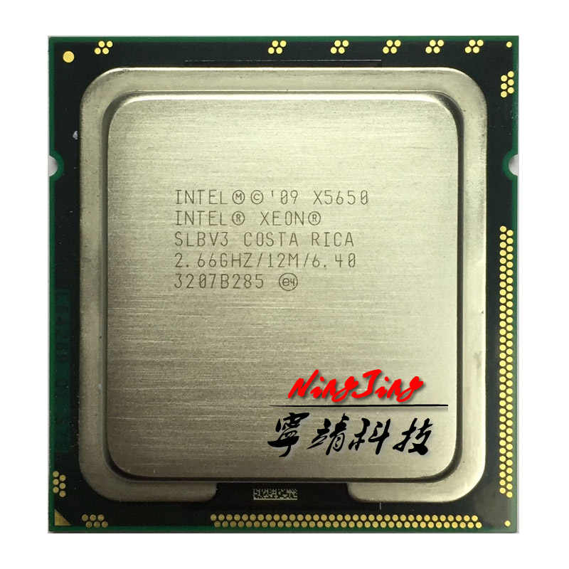 Intel Xeon X5650 2.667 GHz Six-Core Twelve-Thread CPU Processor 12M 95W LGA 1366