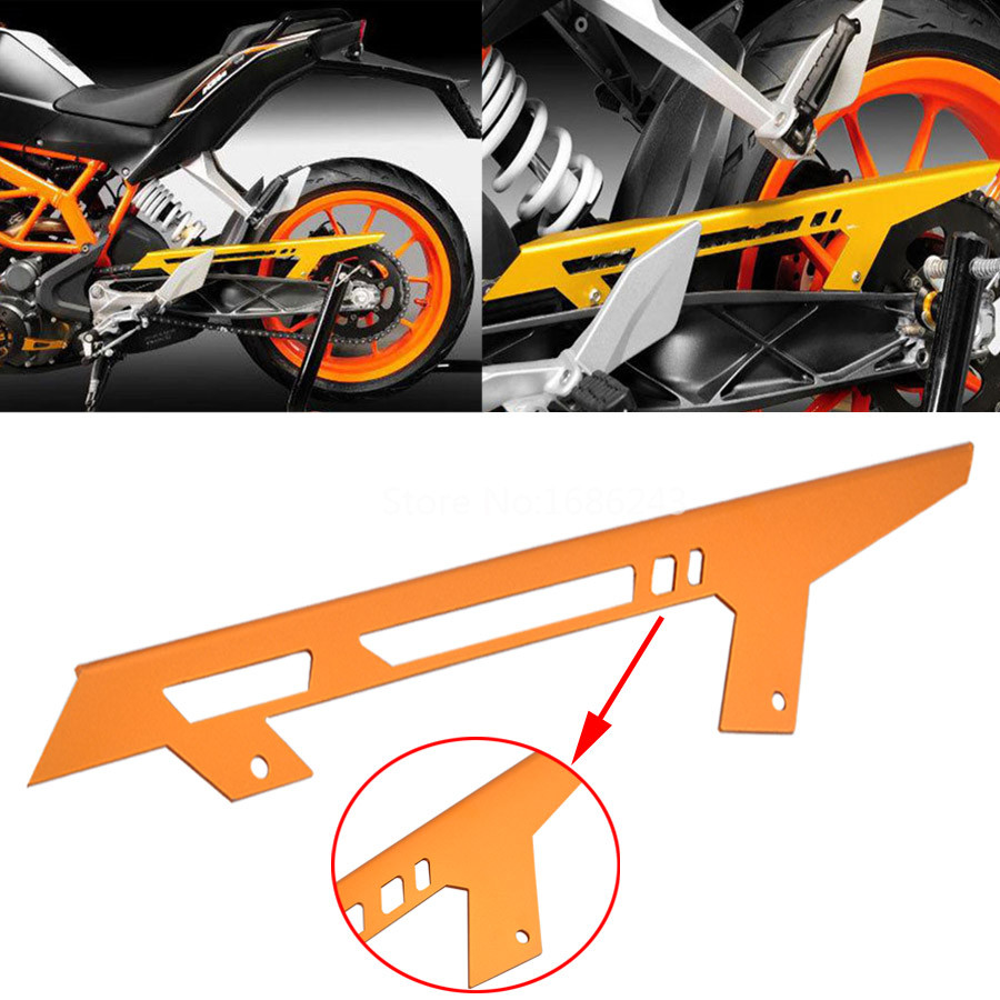 Motorcyle Chain Protector Guard Cover Fit For KTM 390 125 200 Duke RC 125 2011-2016 2012 2013 2014 2015 image