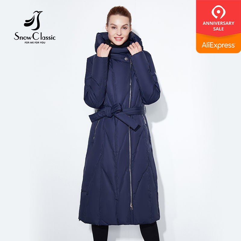 Snow Classic 2017 winter plus fat to increase the code thick lady warm cold cold coat