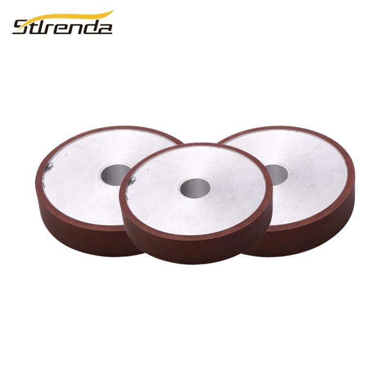 STLRENDA Diamond Grinding Wheel 100/125/150/175mm Dia. Parallel Resin 80-8000 Grit Grinding Disc Saw Blade For Abrasive Tools