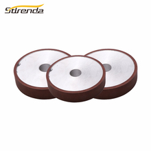цена на STLRENDA Diamond Grinding Wheel 100/125/150/175mm Dia. Parallel Resin  80-8000 Grit Grinding Disc Saw Blade For Abrasive Tools