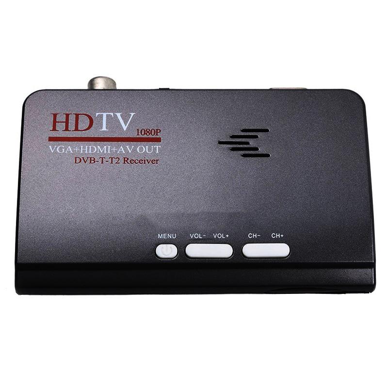 Smart Tv Box Uns Stecker 1080P Hd Dvb-T2/T Tv Box Hdmi Usb Vga Av-Tuner Receiver Digital set-Top-Box