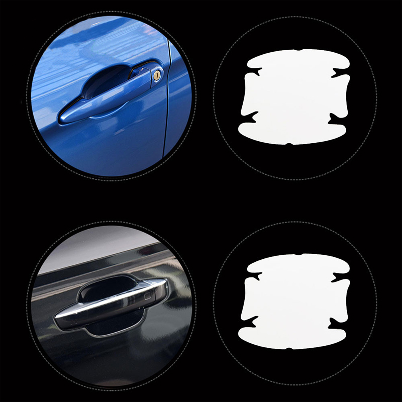 For Ford Escape Kuga 13-18 Chrome Rear Window Side Spoiler Cover Trim Molding US