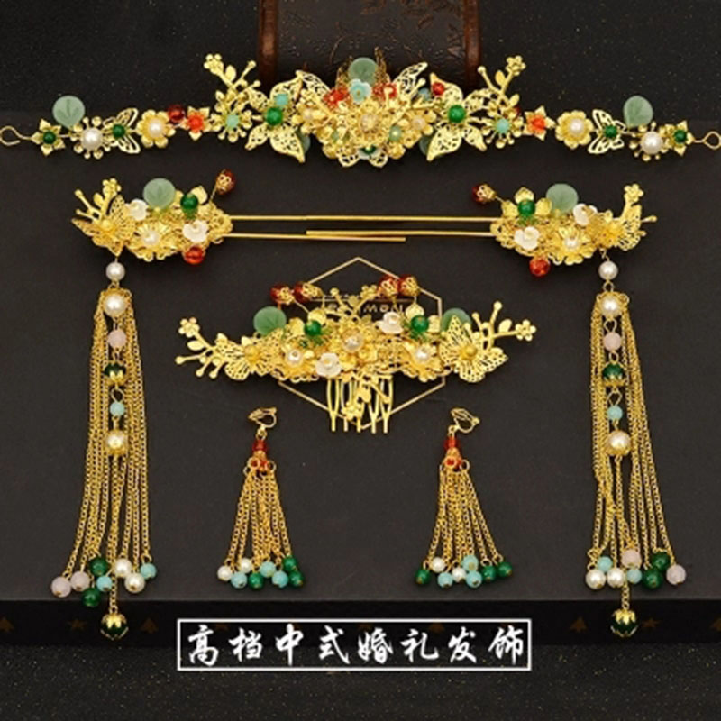 Hair Jewellery Chinese Wedding Hair Accessories Vinatge Traditional Chinese Head