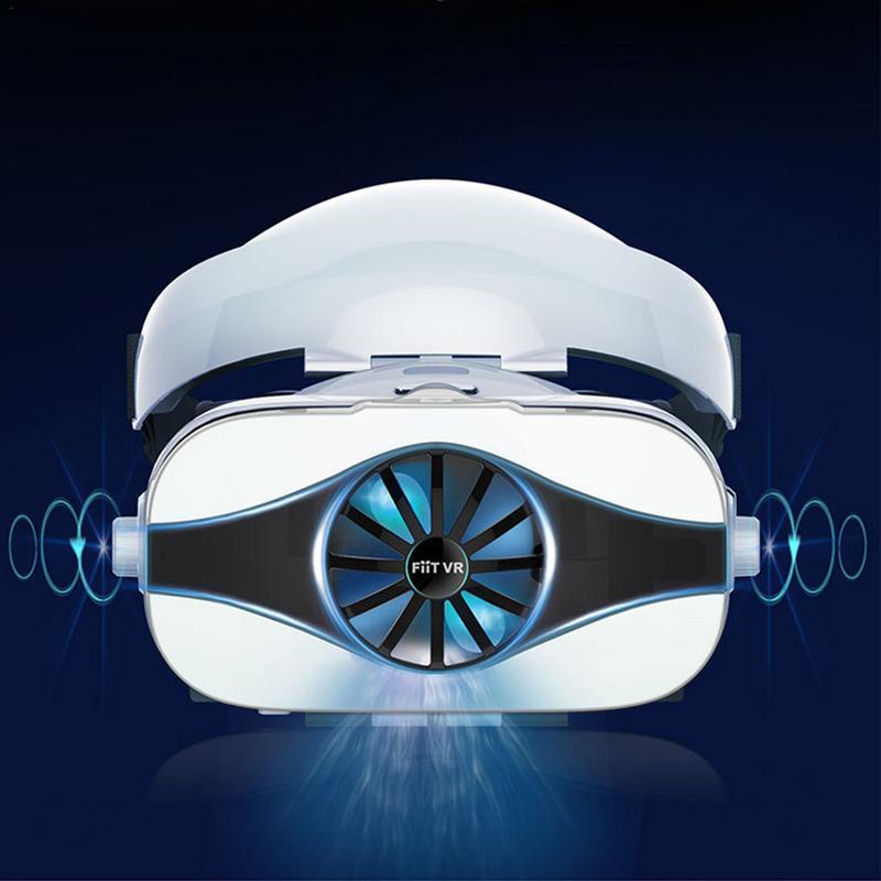 Dissipation thermique VR lunettes avec casque réalité virtuelle 3d jeu Mobile 4d intégré casque spécial Ar monté sur la tête avec ventilateur