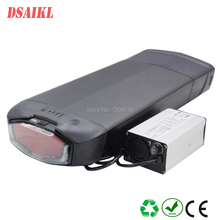 EU US no tax 36V 48V 500W 750W ebike rear rack battery 10.4Ah 11.6Ah 12Ah 13Ah 14Ah 15Ah 16Ah 17Ah electric bicycle battery pack все цены