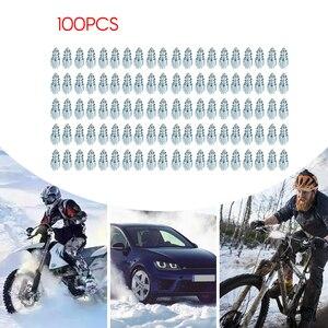 Image 3 - Pneus de roue antidérapants avec crampons, vis pour la neige, 2020 pièces, pour Bmw Ford VW Audi, nouveau modèle 100