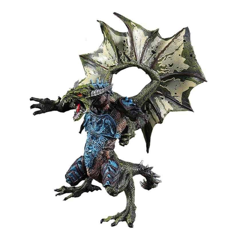 Летающий дракон модельная игрушка динозавр модель животный мир моделирование 3D стерео динозавр модель детские игрушки Изысканные Подарки
