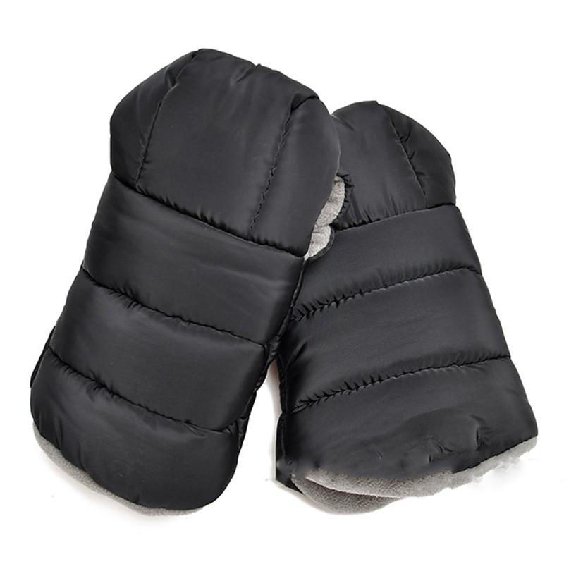 Gutherzig Neue-warme Muffs 212, Wind Und Wasser-beständig Kinderwagen Handschuhe Mit Universal Fit, Beste Für Einfrieren Winter Bedingungen, (schwarz, Ein Dauerhafter Service