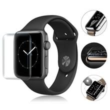 2PCS 3D Full Screen Scratch Resistant Soft Screen Protector Film Hydrogel Film For IWatch Apple Watch 1 2 3 Series 38mm 42mm New
